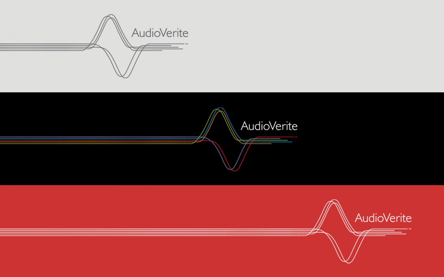 Logo design for Audio Verite Colour Ways