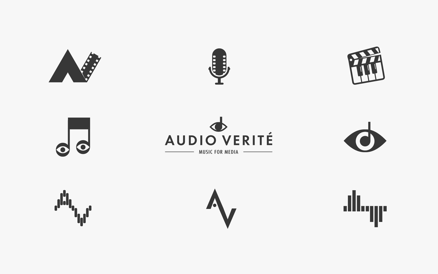 Logo design for Audio Verite Developments