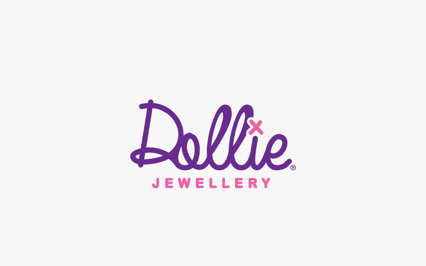 Dollie Logo Design, in Brand Colours