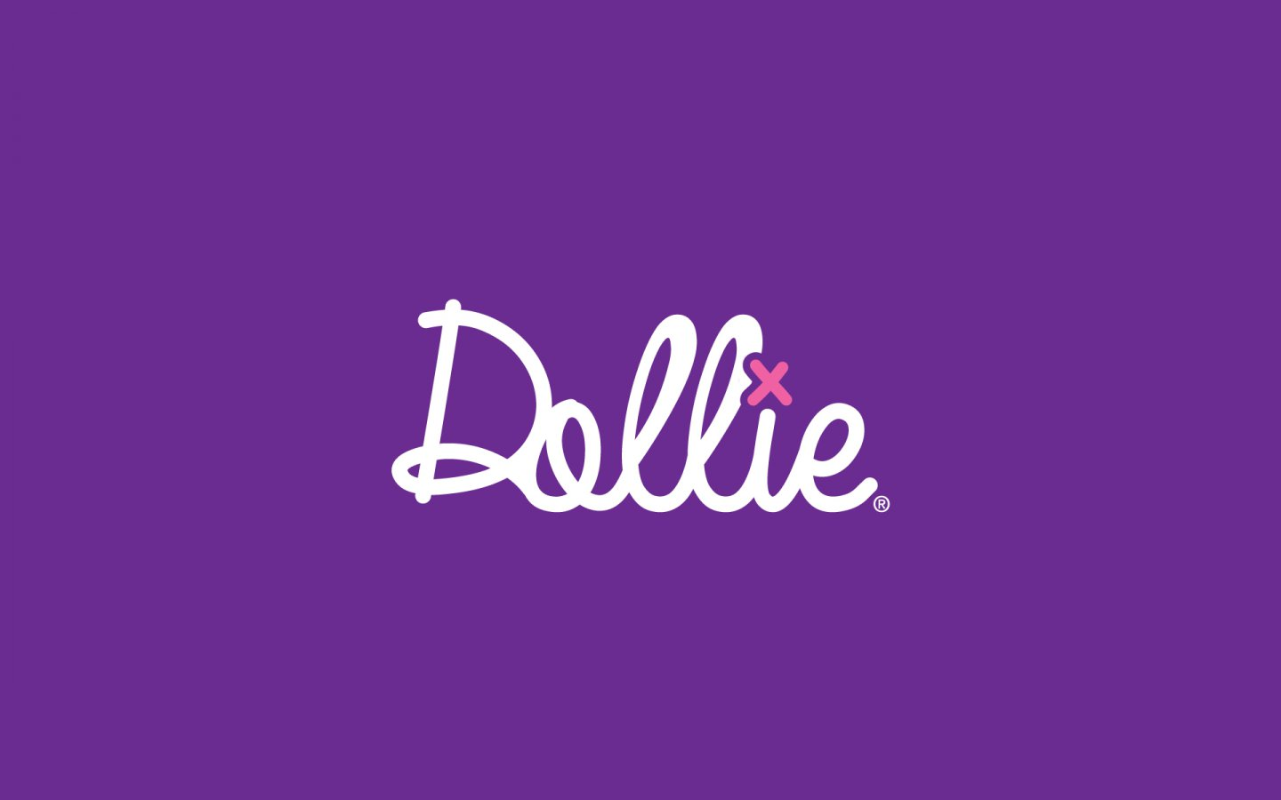 Dollie Logo Design, in Brand Colours Reversed