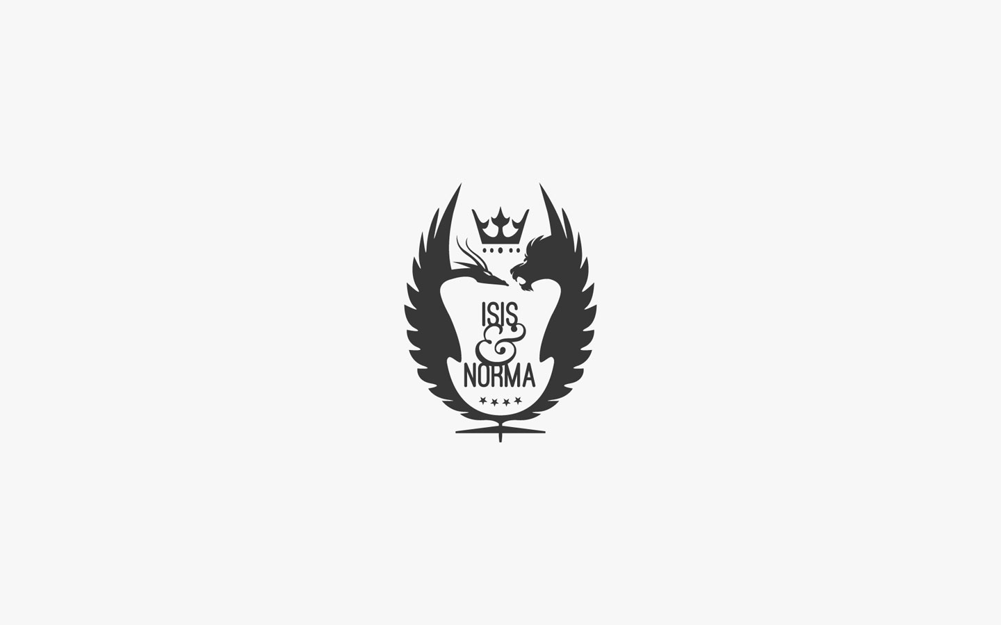 Isis and Norma, Interior Designer Logo Design