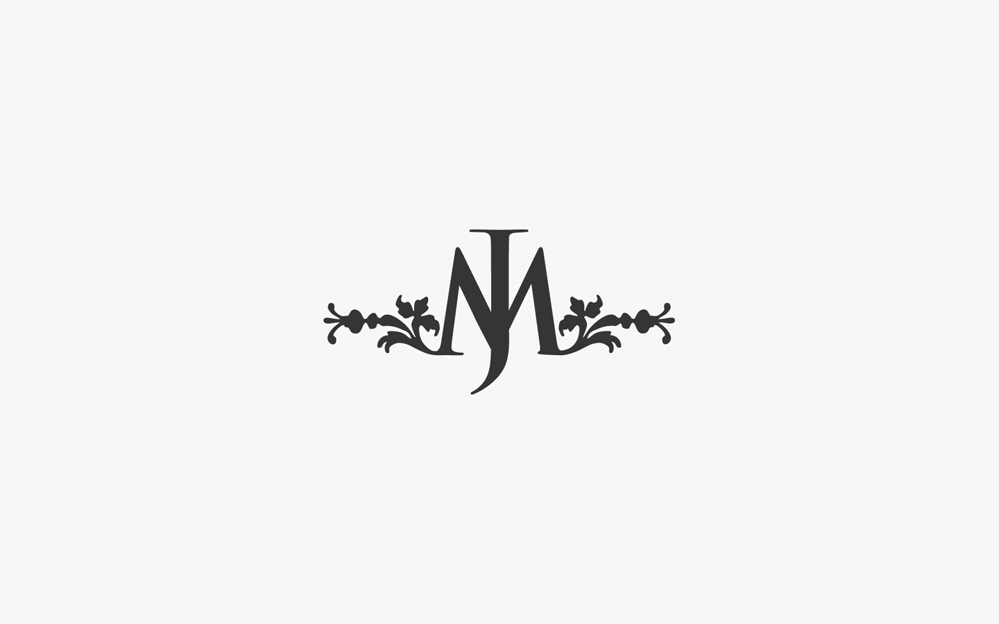 Jane Marie's Logo Design In Mono