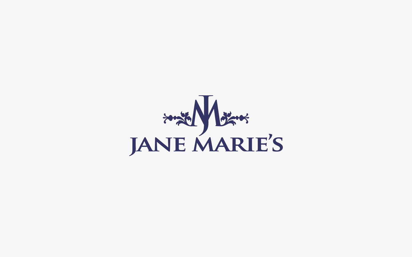 Jane Marie's Logo Design In Brand Colour