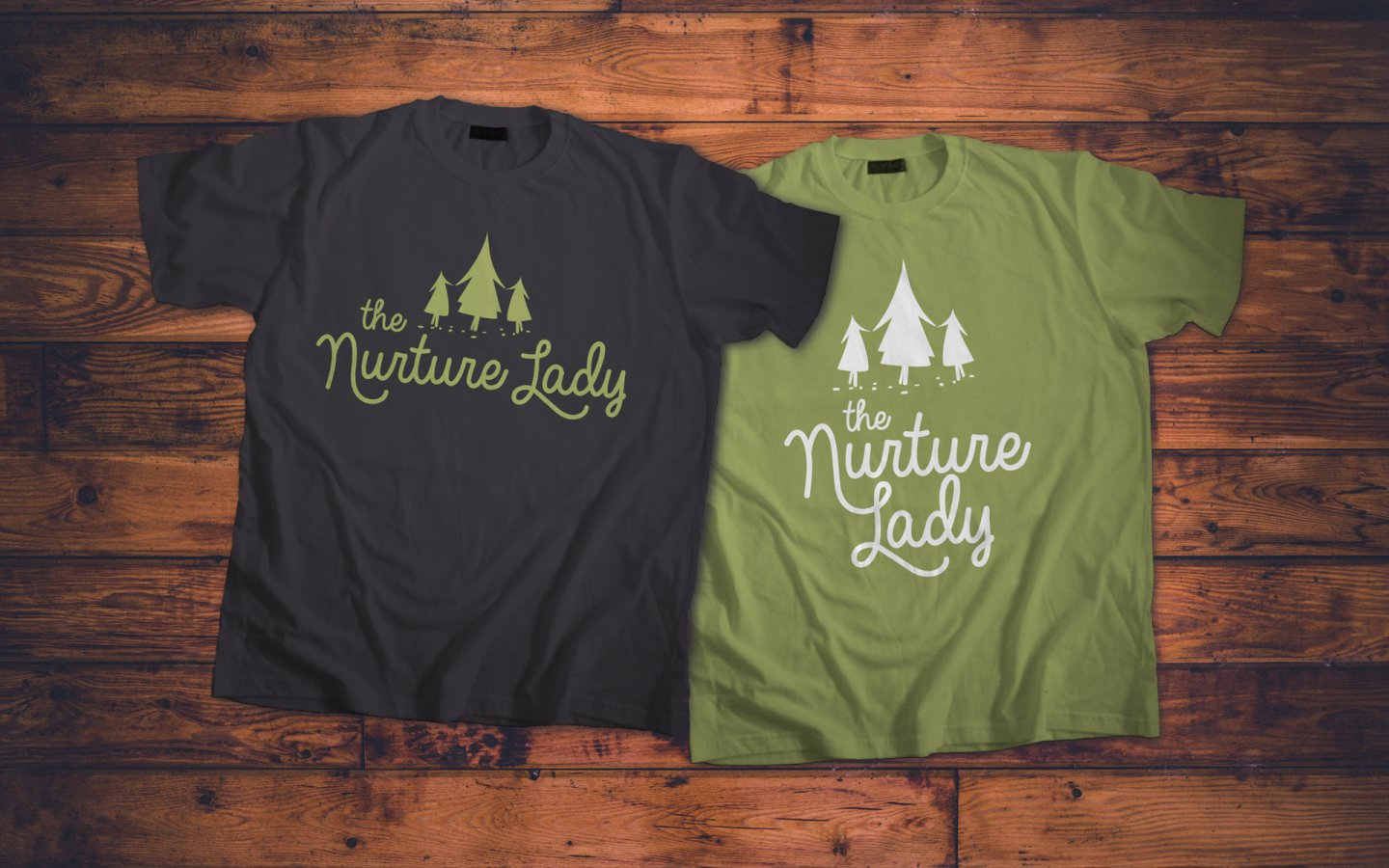 The Nurture Lady, Brand Colours and T-Shirts