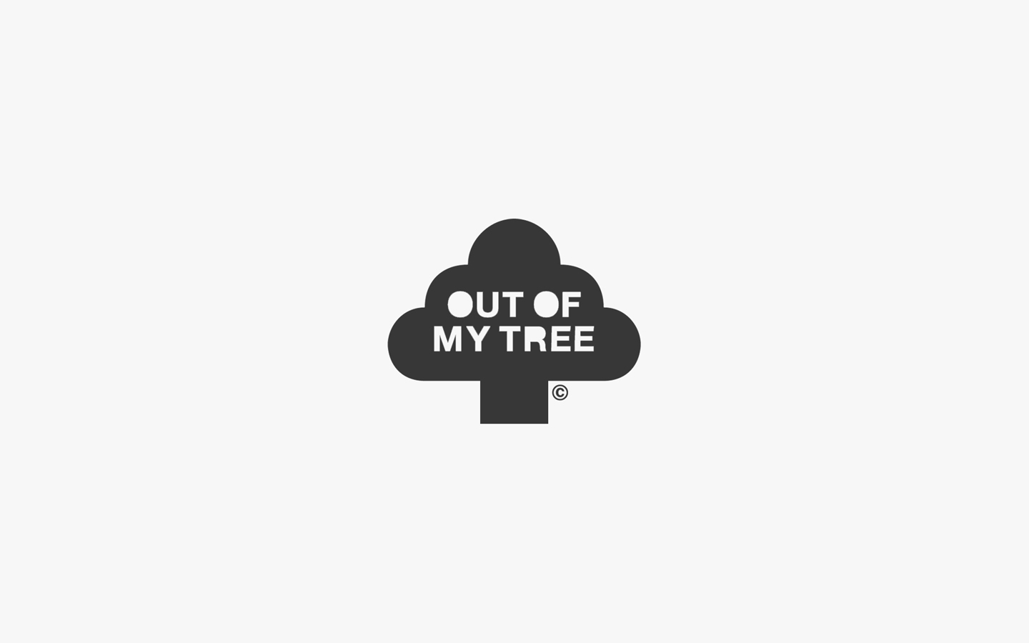 Outofmytree Logo Design in Mono