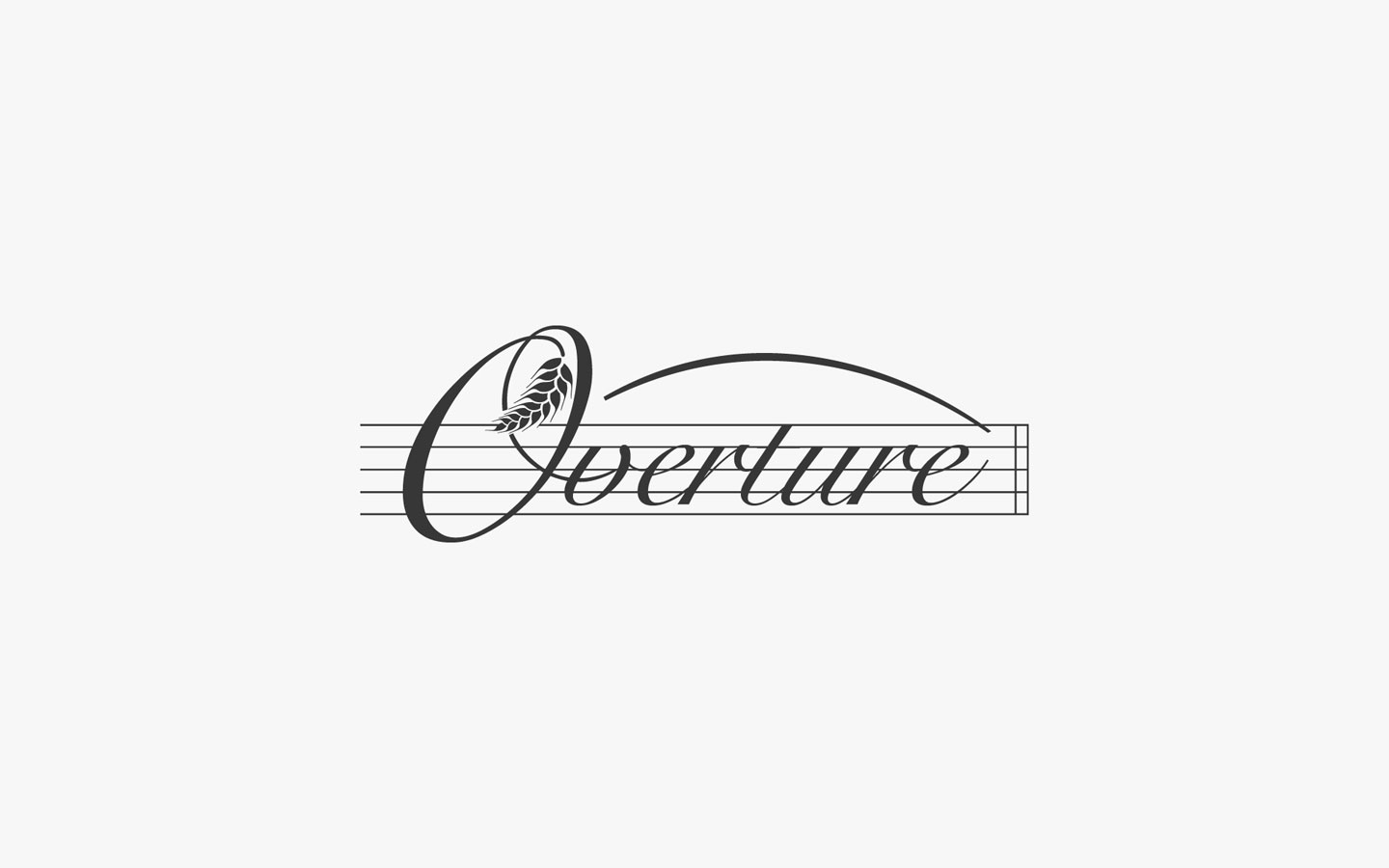 Overture Logo Design for Lima Grain in Mono