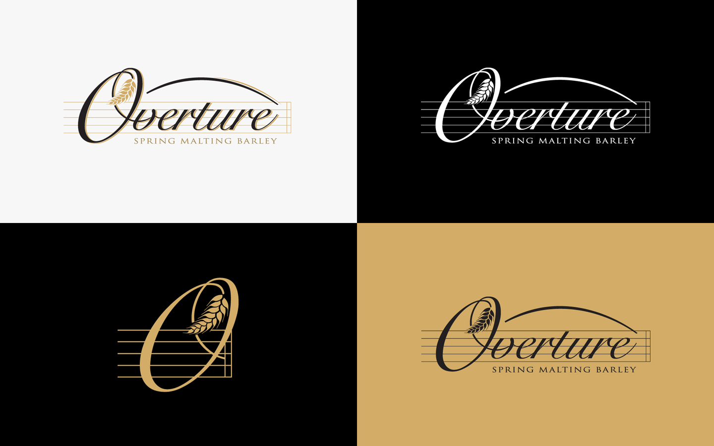 Overture Logo Design for Lima Grain in Brand Colours