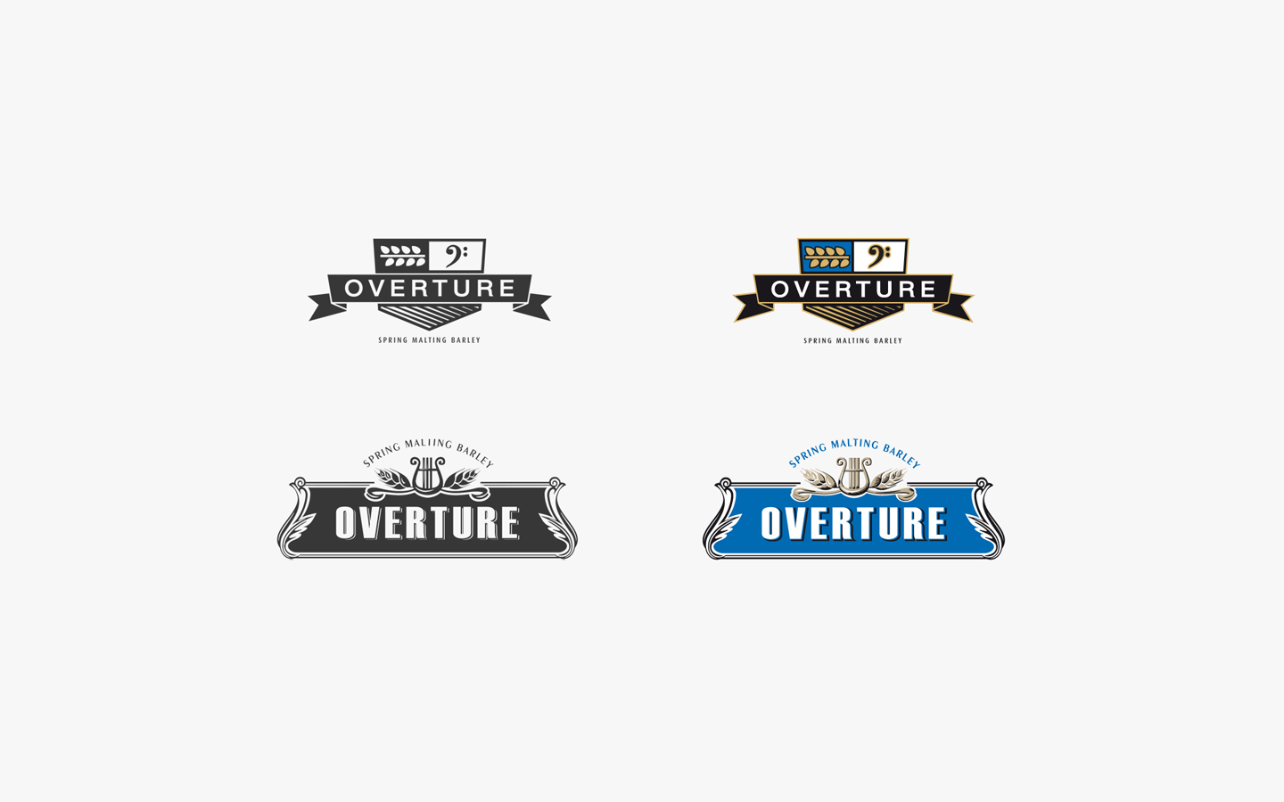 Overture Logo Design for Lima Grain in Developments